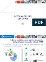 Charlas SBS Reforma SPP 2013 Ley 29903 - Marzo