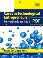 Cases in Technological Entrepreneurship