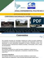 Convenios Nacionales e Internacionales 2013 (2)