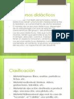 Los recursos didácticos