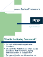Spring Framework Intro
