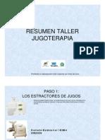 Resumen Taller Jugoterapia