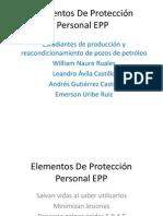 Elementos De Protección Personal EPP