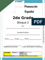 silvia 2do Grado - Bloque 2 - Español