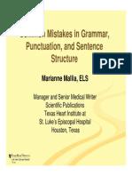 Grammar Punctuation -Rules