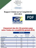 Presentation Kesner Pharel Rapport Compétitivité Global 2013-2014