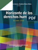 Horizontes Derechos Humanos Ecuador 2012