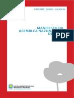 Manifesto Da Asemblea Nazonalista de Lugo
