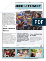 balanced literacy newsletter