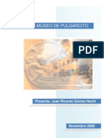 Relato Del Museo de Pulgarcito