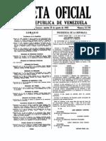 1983-08-23 GO Nº 32795 Reglamento otorgamiento Permisos Sanitarios