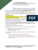 Manual de Uso Proyectos Ecuador