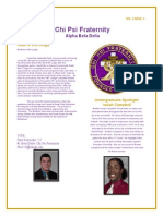 Chi Psi Alumni November Newsletter