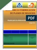 Guia de Plan de Negocio