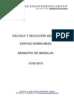 Informe Sobre Calculo y Seleccion Del Dps