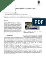 Informe de Lab Fisicoquimica3 Cinetica