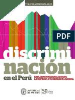 Discriminación en el Perú