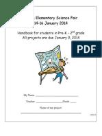 science fair pk-2 handbook