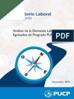Observatorio Laboral PUCP - Boletín I