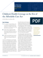 Children's Health Insurance Coverage