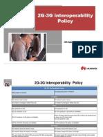 2G-3G Interoperability Policy
