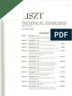 Liszt Exercizes Book 1