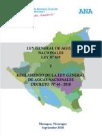 Ley de Agua para los Paises Centroamericanos
