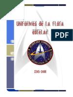 Uniformes de La Flota Estelar