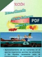 Presentación1 ESTILOS SALUDABLES nutricion