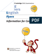 Yle Flyers Info Candidates En