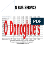 clonmel town bus service red route