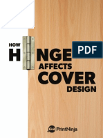 How Hinge Affects Cover Design
