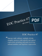 eoc practice7