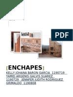 Enchapes Informe Final