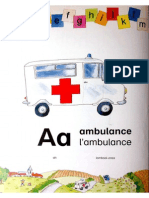 ABC Freize Bilingual English - French