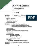 Cuadernillo de Etica y Valores i