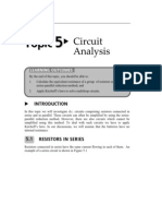 Topic 5 Circuit Analysis