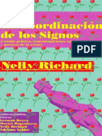 NELLY RICHARD La Insubordinacion de Los Signos