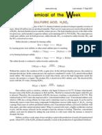 Sulfuric Acid & Top 20 Chemicals