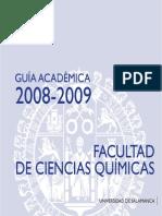 Ciencias Quimicas 2008-09