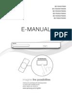 BD F8X00 Usermanual