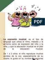 La expresión musical