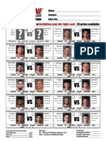 Ufc 102 Fight Card