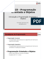 Aula-02-Introducao a Programacao Orientada a Objetos