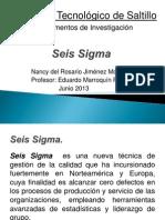 Fundamentos de Investigacion, Seis Sigma