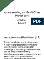 Multithreading and Multi-Core Processors
