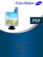 Treinamento Monitores Samsung 551s 765mb 793df 793v