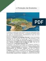Vigilância e Proteção da fronteira brasileira