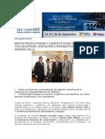 08-08-2013 Blog Rafael Moreno Valle - MAYOR PRODUCTIVIDAD Y COMPETITIVIDAD EN ESTADOS, CON SEGURIDAD, EDUCACIÓN E INFRAESTRUCTURA, MORENO VALLE