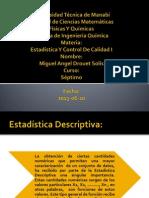 Estadistica y Control de Calidad 1 Deber 2